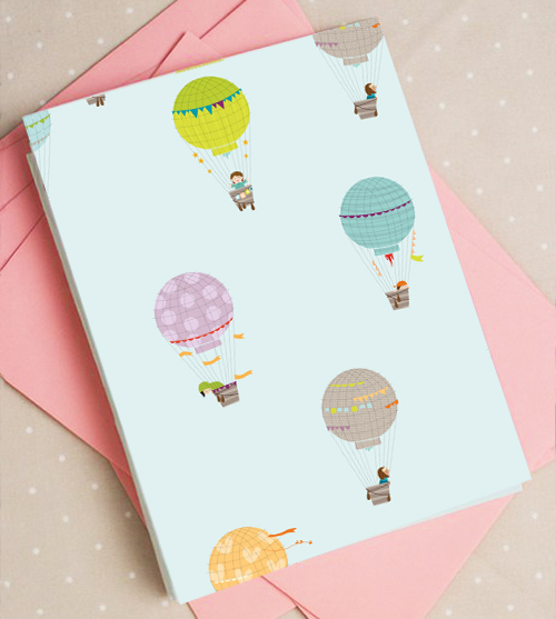 graphic about Printable Hot Air Balloon named Cost-free printable scorching air balloon card How Regarding Orange