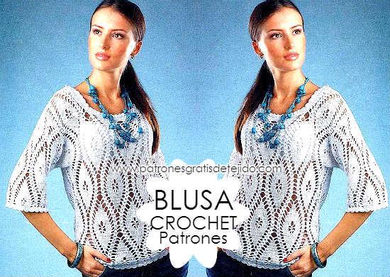 blusa-manga-tres-cuartos-crochet