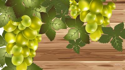 gambar animasi buah anggur