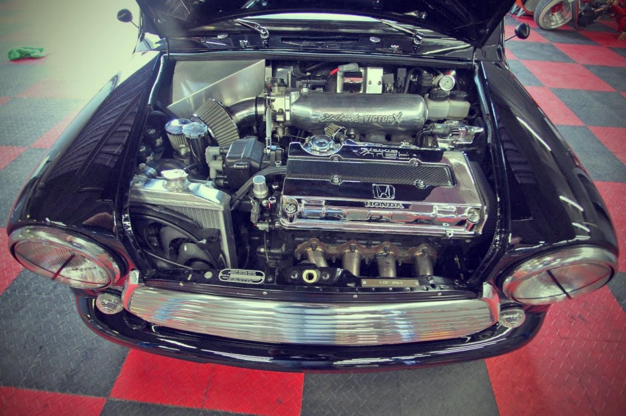 1972 Austin Mini Cooper Auto Restorationice