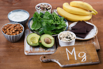 Food rich in Magnesium