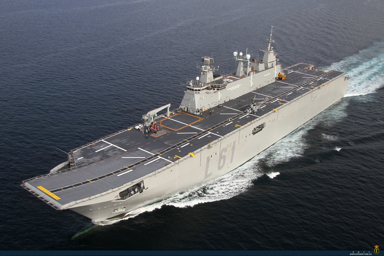 MIRAGEC14: South Korea Envisions Light Aircraft Carrier ...Spanish Aircraft Carriers 2019