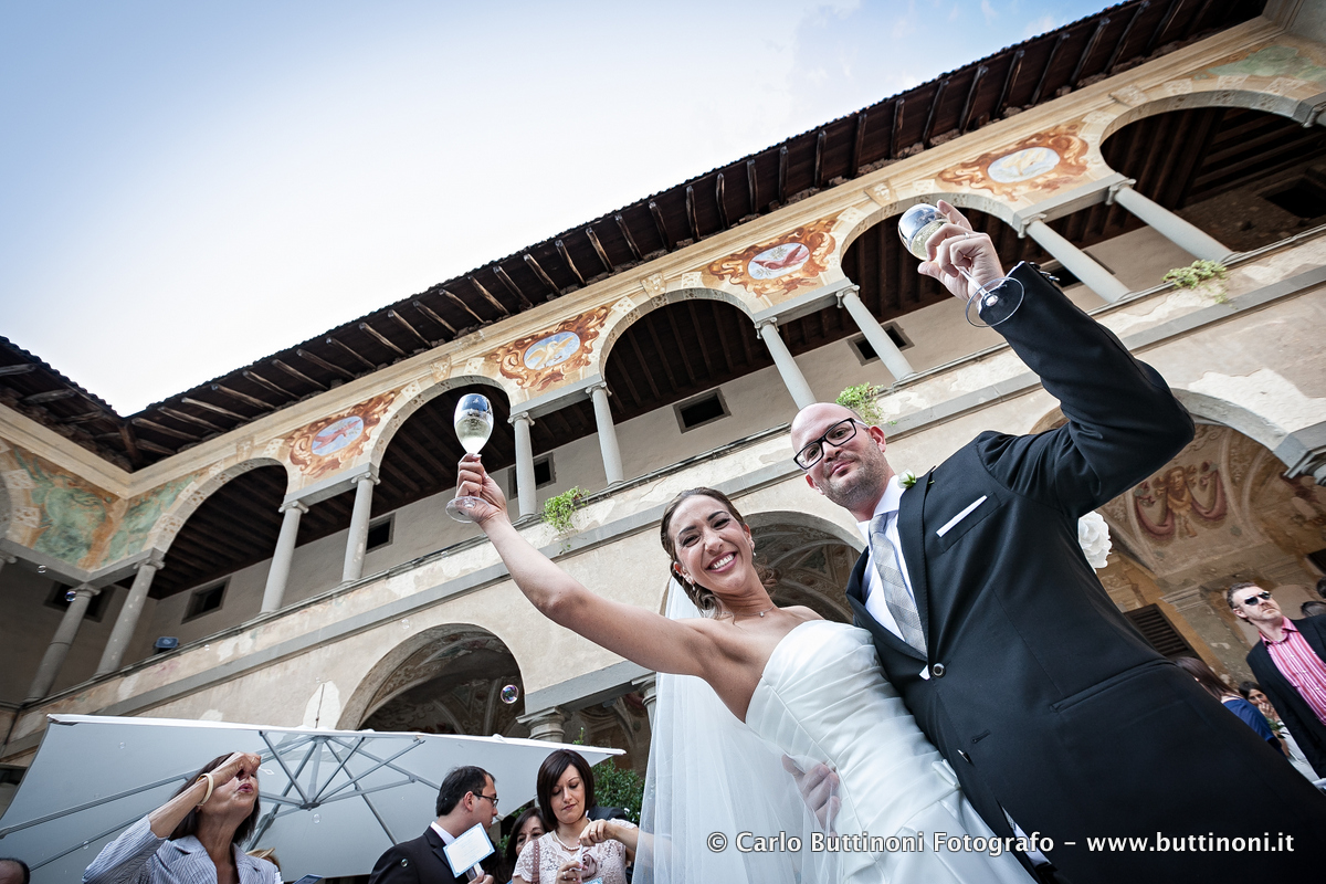 Fotografo Matrimonio, Castello Cavernago Reportage Foto