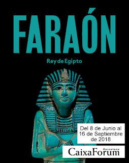 Faraón, Rey de Egipto; Caixaforum Barcelona