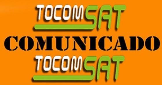 Resultado de imagem para COMUNICADO TOCOMSAT / TOCOMBOX / PORTAL AZ