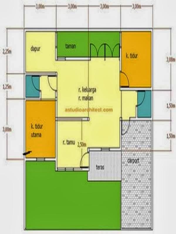 Contoh Rumah Minimalis 2 Lantai Type 21 - Desain Interior ...