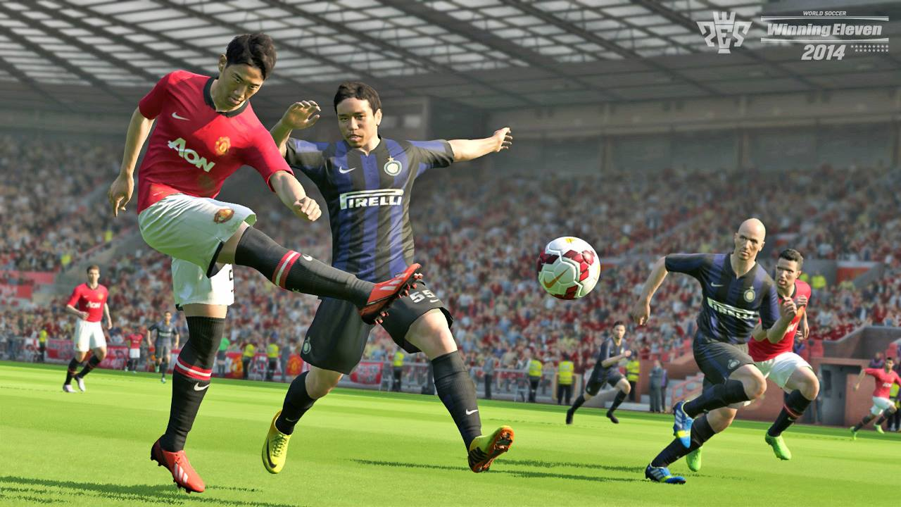 Conkerax patch/fo pour pes 2014 xbox 360 gameplay with shirts.