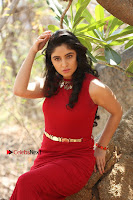Telugu Actress Zahida Sam Latest Pos in Red Gown at RF Films New Movie Opening  0356.JPG