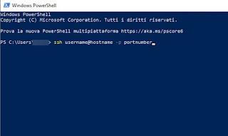 PowerShell SSH