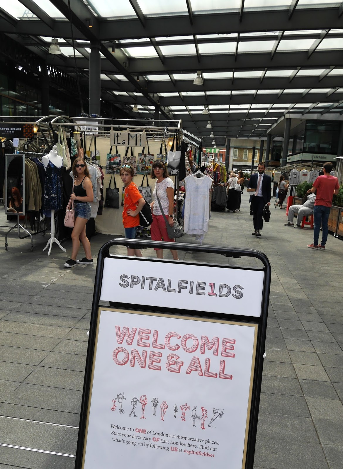 Spitalfields Market, London