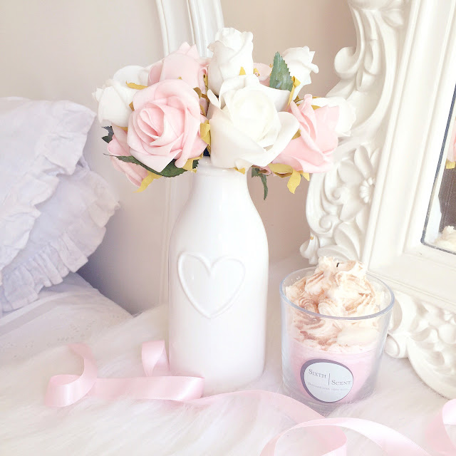 Homeware Haul | Dunelm Heart Milk Bottle Vase