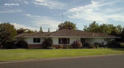 Casa californiana de los años 60 tipo rancho