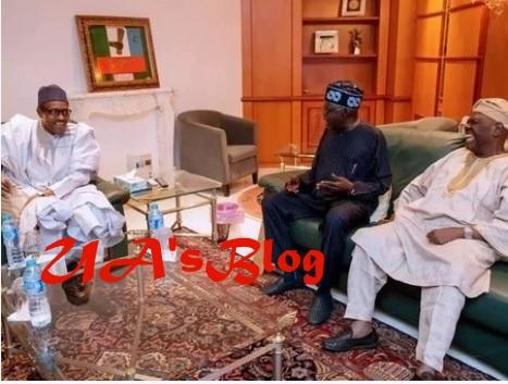 Breaking: Buhari, Tinubu, Akande meet again inside Aso Rock