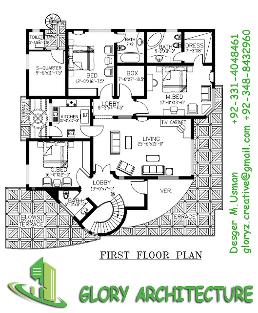 Glory Architecture 25x50 House Elevation Islamabad: 60x75 House Plan, 60x75 House Elevation, 60x75 Pakistan