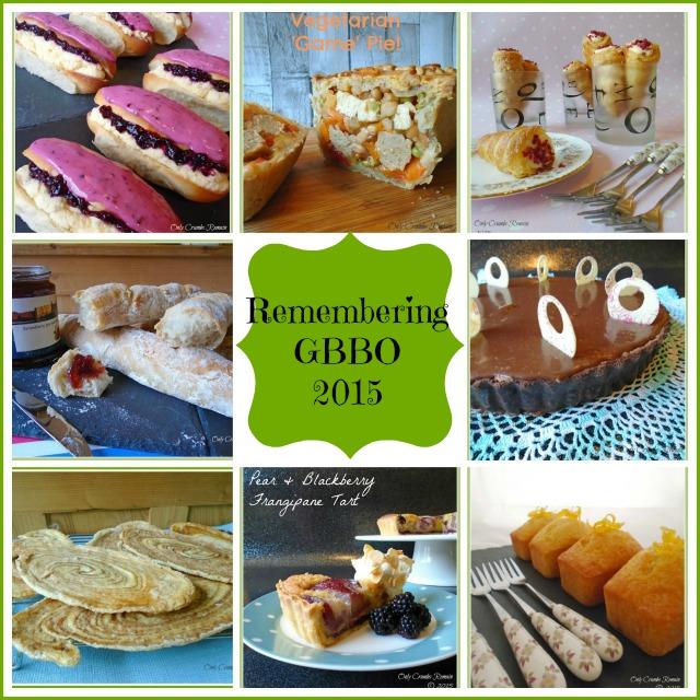 GBBO 2015 bakes