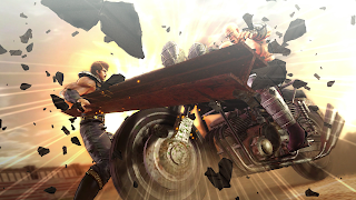 Fist of the North Star: Lost Paradise PS Vita Wallpaper