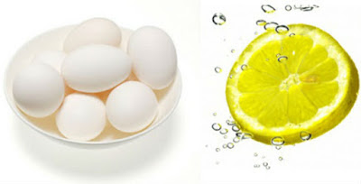 Egg White and Lemon Juice