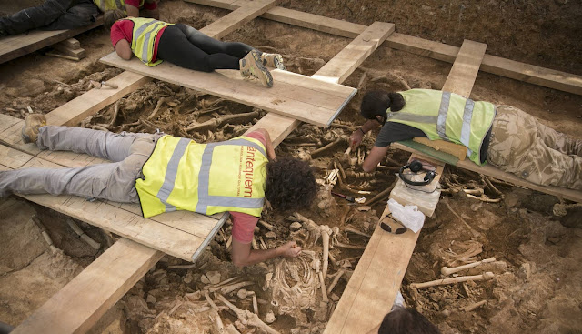 17th century mass graves discovered in Barcelona