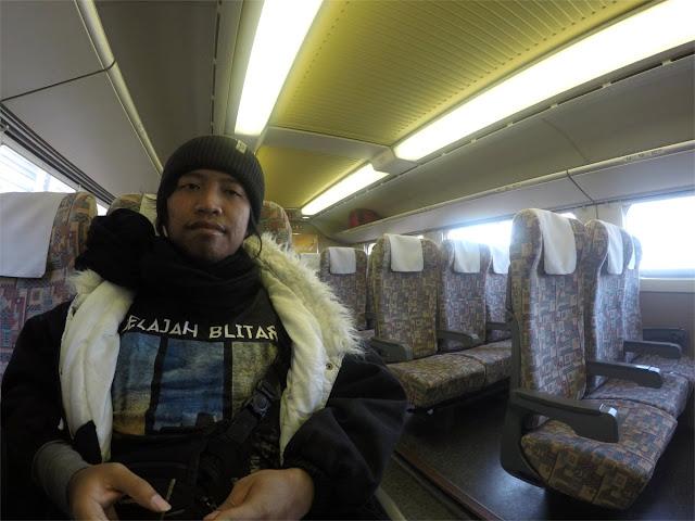 Naik Shinkansen