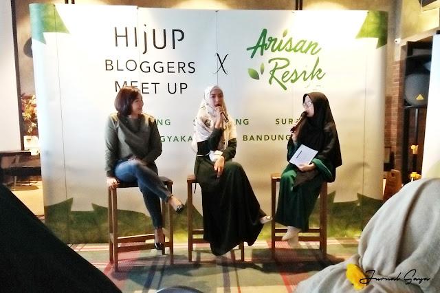 hijup bloggers x arisan resik