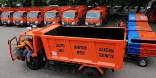 Program Motor Bak Sampah Setiap RW Jakarta