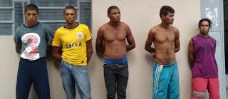 Polícia prende homens que aterrorizavam Zona Rural de Barra de Santa Rosa