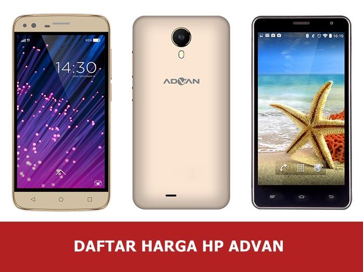 Daftar Harga Hp Advan Android