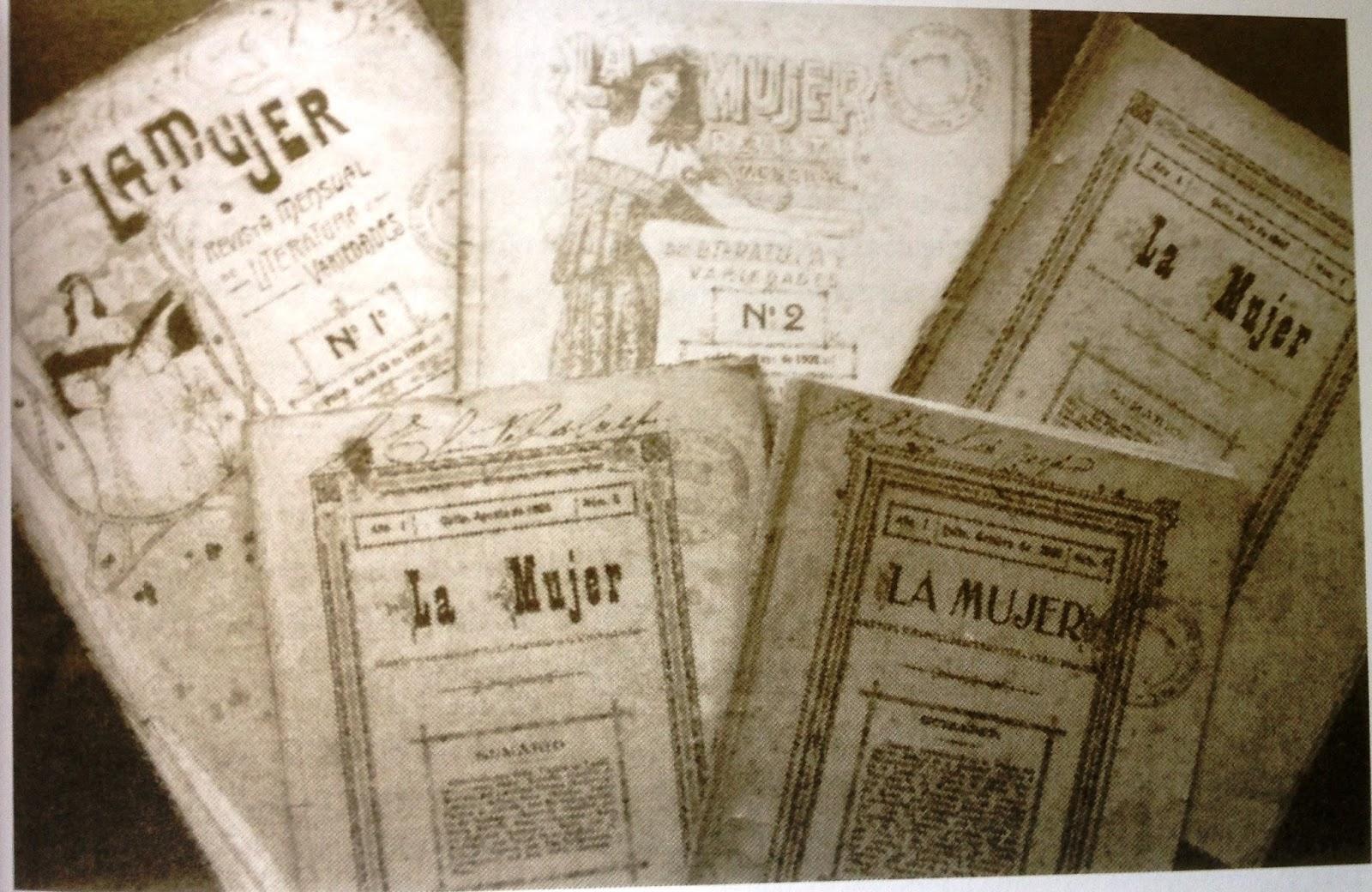 """Imagen de la revista """"La Mujer"""" fundada por Zoila Ugarte // Fuente: Heroinas.net"""
