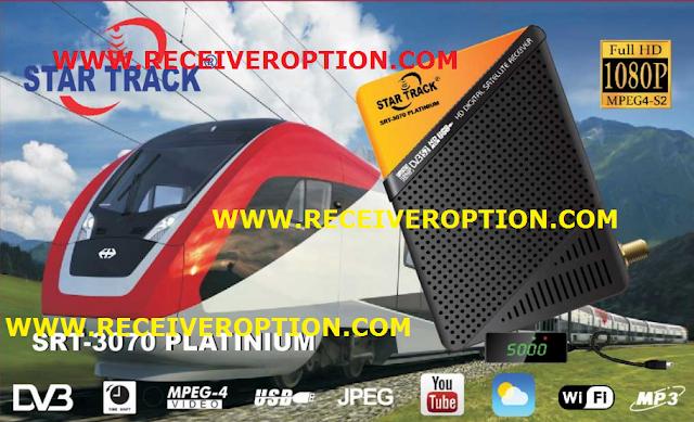 STAR TRACK SRT-3070 PLATINIUM HD RECEIVER POWERVU KEY NEW SOFTWARE