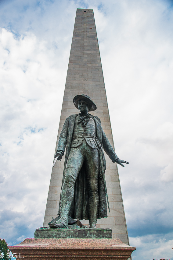 Monumento Bunker Hill Boston - The freedom trial