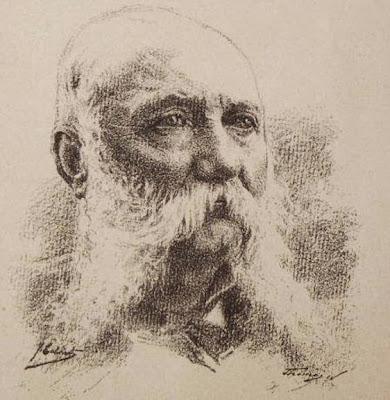Dibujo de Josep Cabrinety de Carles Bosch de la Trinxeria