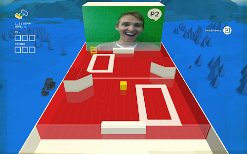 Play Cube Slam face-to-face against your friends