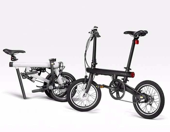 bicicleta eletrica Xiaomi dobravel