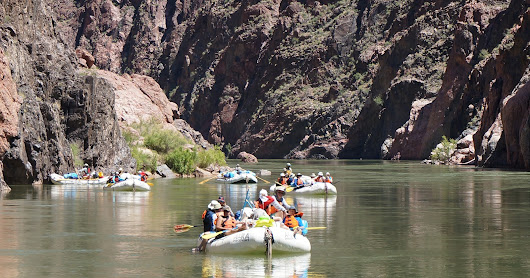 Rafting no Grand Canyon - dia 5 de 6 (20/05/2017)