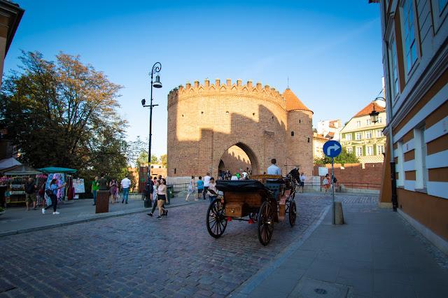 Barbacane-Città vecchia-Stare Miasto-Varsavia