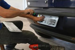 Veículos com placas clonadas são apreendidos