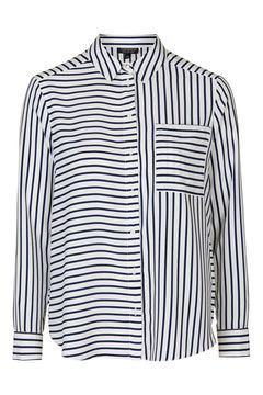 Simple Mix Stripe Blouse, $65 from Topshop