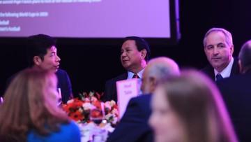 Prabowo Subianto Jadi Pembicara Utama Dalam Acara The World in 2019 Gala Dinner di Hotel Grand Hyatt Singapura, 500 Peserta Asing Yang Hadir Dikenakan Biaya 1.600 SGD