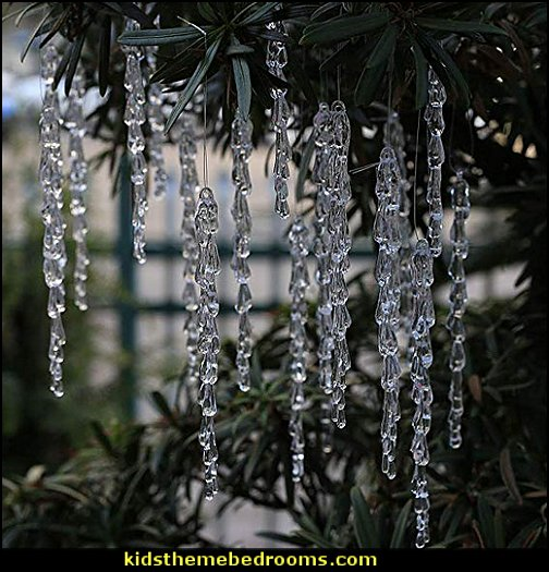 Snowflake and Icicle Ornaments