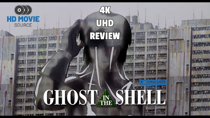 Ghost in the Shell (1995) 4K Ultra HD Blu-ray Review: The Basics