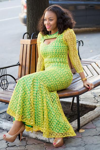 Ankara African Dress Style