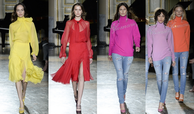 Best of Milan and London FW Fall 2017.Fall 2017 Blumarine.