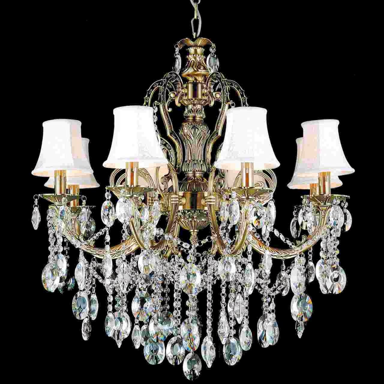 lampu hias gantung kristal