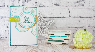 Fresh and funky Father's Day Card featuring the Eastern Beauty Stamps from Stampin' Up! UK.  Buy Stampin' UP! here in the UK