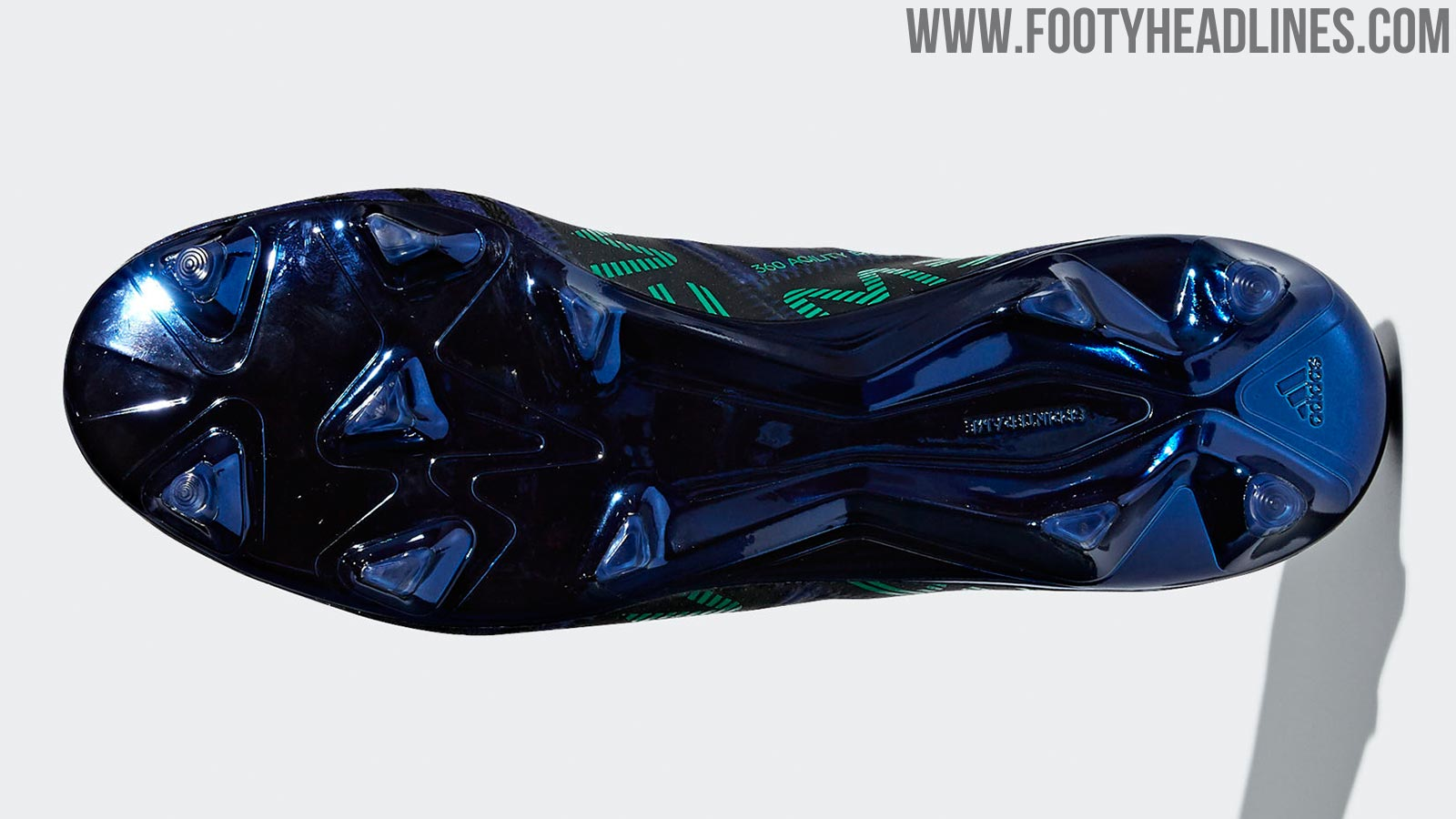purchase cheap 6af4a eaa5d ... the Adidas Nemeziz Messi Deadly Strike 2018 boots, set to be worn by  Messi for the latter stages of the 17-18 campaign, combine a dark blue   navy ...
