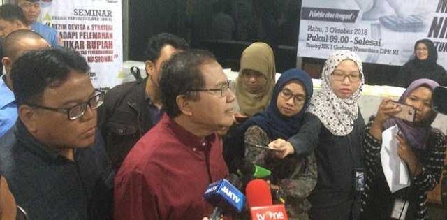 Rizal Ramli: Saya Sudah Ingatkan, Pemerintah Sibuk Membantah