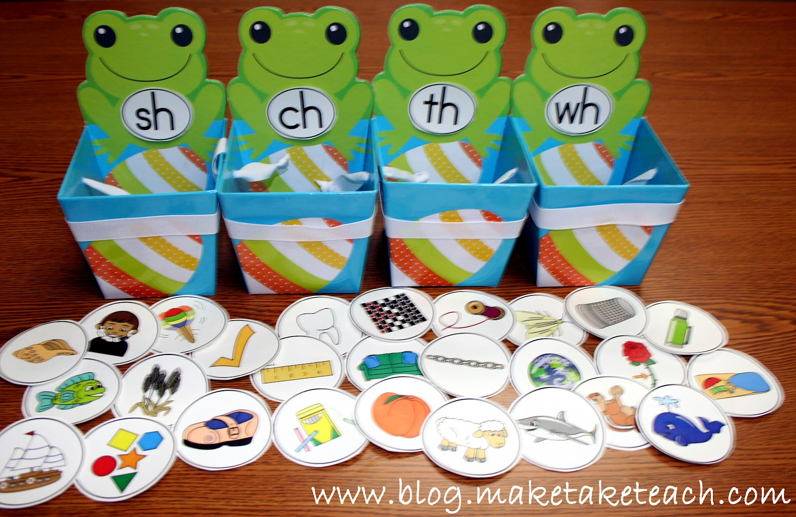 Classroom Freebies Too Consonant Digraph Sorting Activity