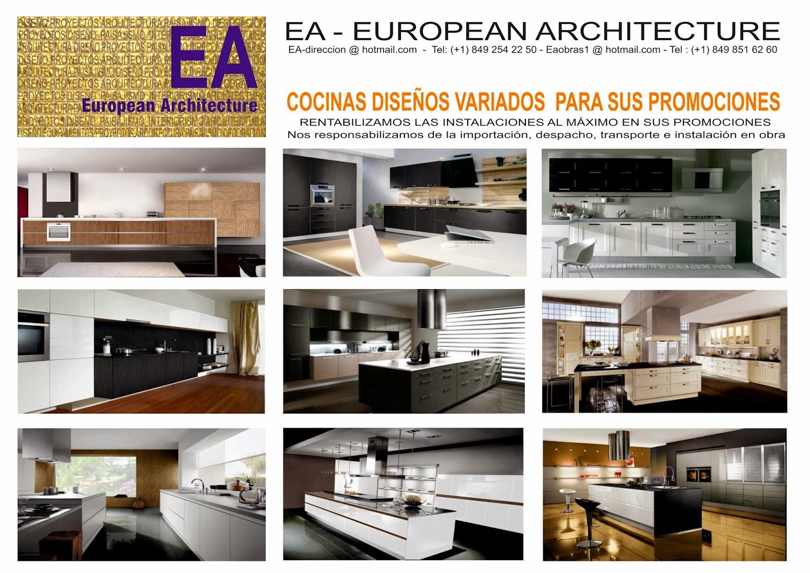EA-EUROPEAN ARCHITECTURE: COCINAS
