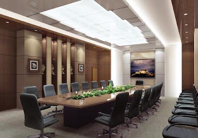 Thiết kế nội thất phòng họp sang trọng và hiện đại