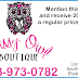 Check out Sassy Owl Boutique